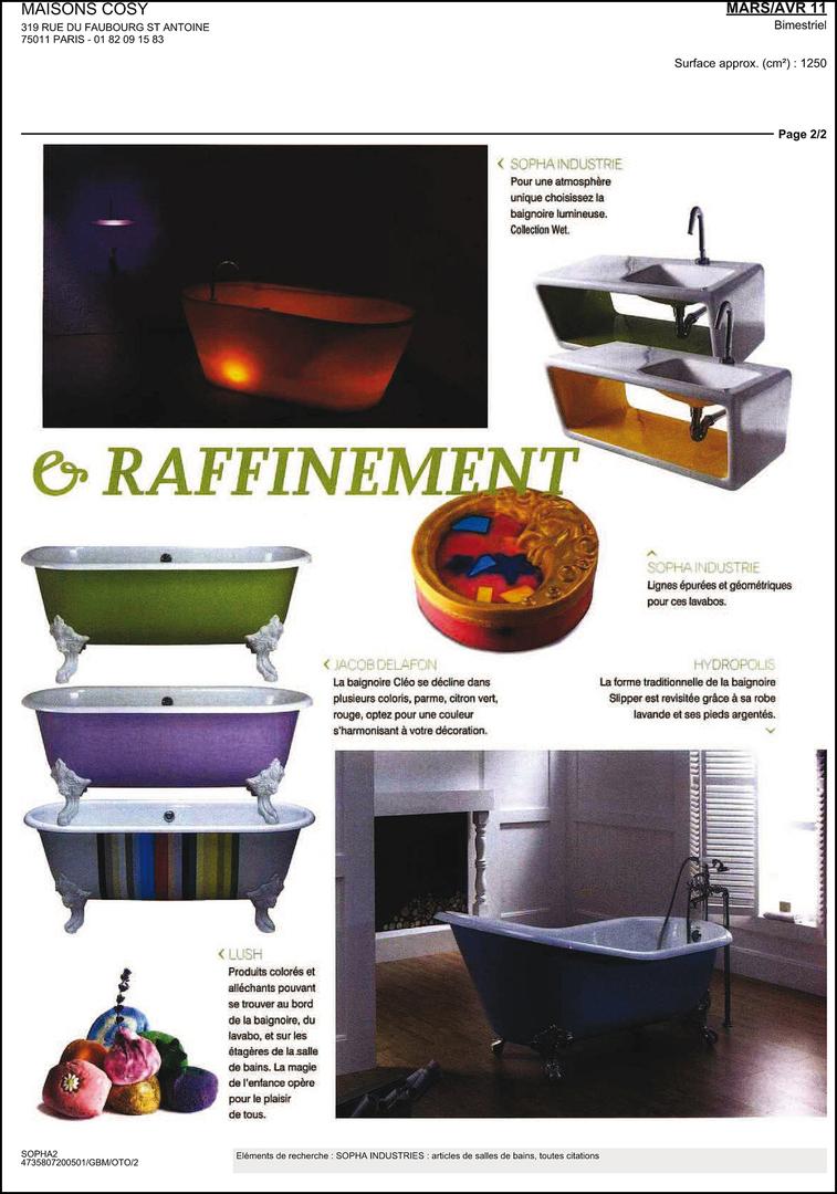 Carrelage Mural Salle De Bain Imitation Pierre ~ Revue De Presse Alth A Ceramica Sopha Industries